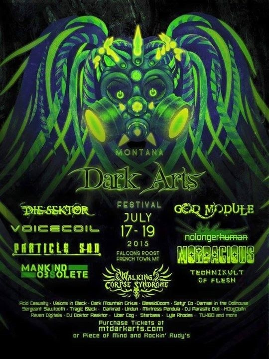 MT Dark Arts Fest Poster