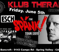 :Concert Review: SPÄNK! Tour – En Esch/Ghostfeeder – June 5, 2015 @ The Bancroft Bar, Spring Valley, CA