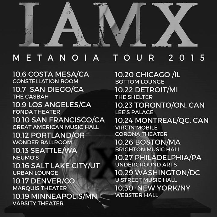 IAMX Tour