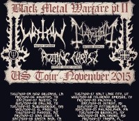:Tour Information: Black Metal Warfare Pt. II – Watain/Mayhem/Rotting Christ