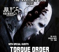 :Concert: Cynical Existence/Torque Order – July 25, 2015 @ Red Eyed Fly, Austin, TX