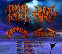 :Tour Information: Adrenal Asphyxia Decimation Of The West Summer Tour 2015 Dates Released