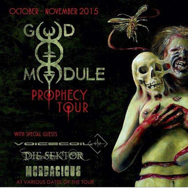God Mod Mord Prophecy Tour 2015