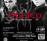 :Concert: Hocico w/Guests – September 19, 2015 @ Black Box, Tijuana, B.C., Mexico