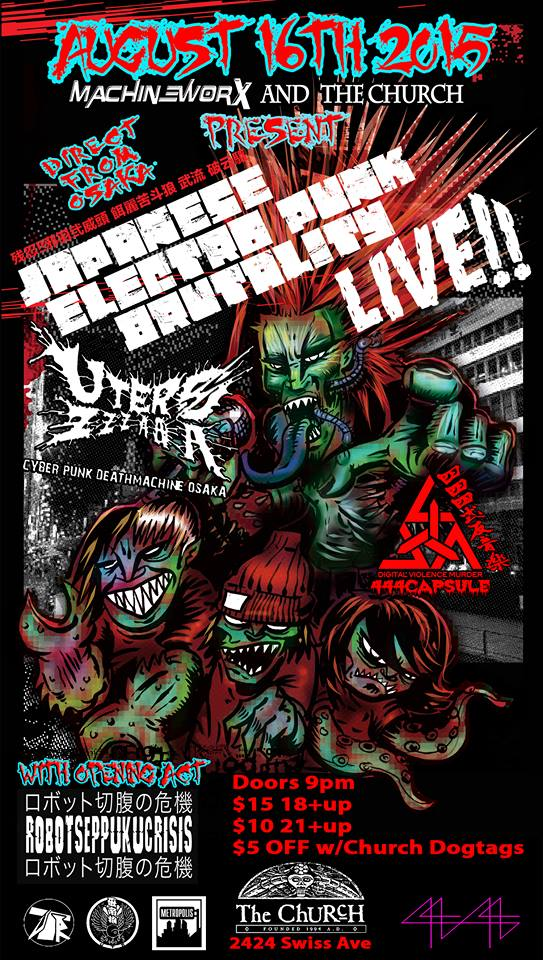 Japanese Electro Punk Brutality Tour 4
