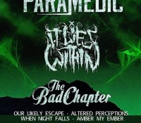 :Concert: Music Over Matter Tour 2015 – The Paramedic/It Lies Within/The Bad Chapter/Our Likely Escape and More! – July 19, 2015 @ Bada Brew Bar & Grill, Crest Hill, IL