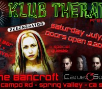 :Concert: Regenerator/Carved Souls – July 18, 2015 @ The Bancroft, Spring Valley, CA