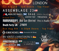 :Festival: SOS #2 – August 8-9, 2015 @ Electrowerks, London, England