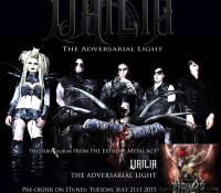 :News: Urilia Announces Pre-Order for Debut EP 'The Adversarial Light,' Out August 11, 2015