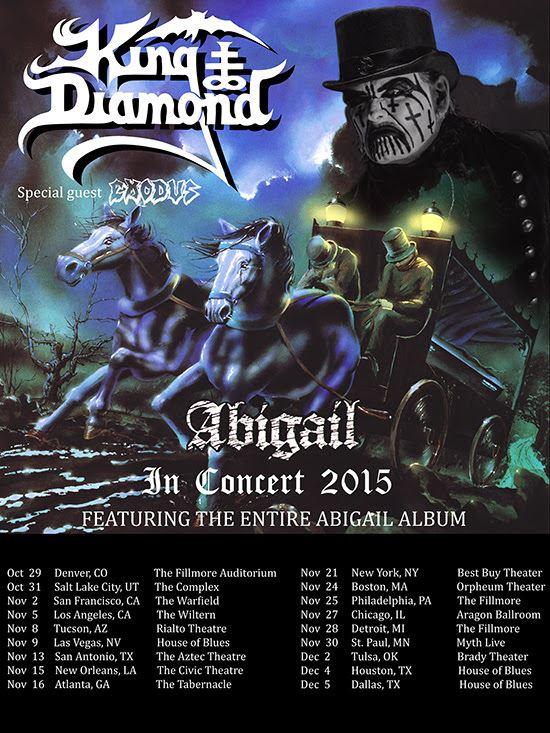 King D Abigail Tour 2015