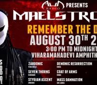:Festival: Maelstrom Festival – August 30 2015 @ Viharamahadevi Open Air Theatre, Colombo, Sri Lanka