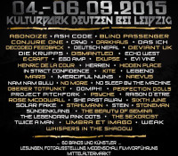 :Festival: Nocturnal Culture Night 10 Festival – September 4-6, 2015 @ MehrGenerationenKulturPark Deutzen, Leipzig, Germany