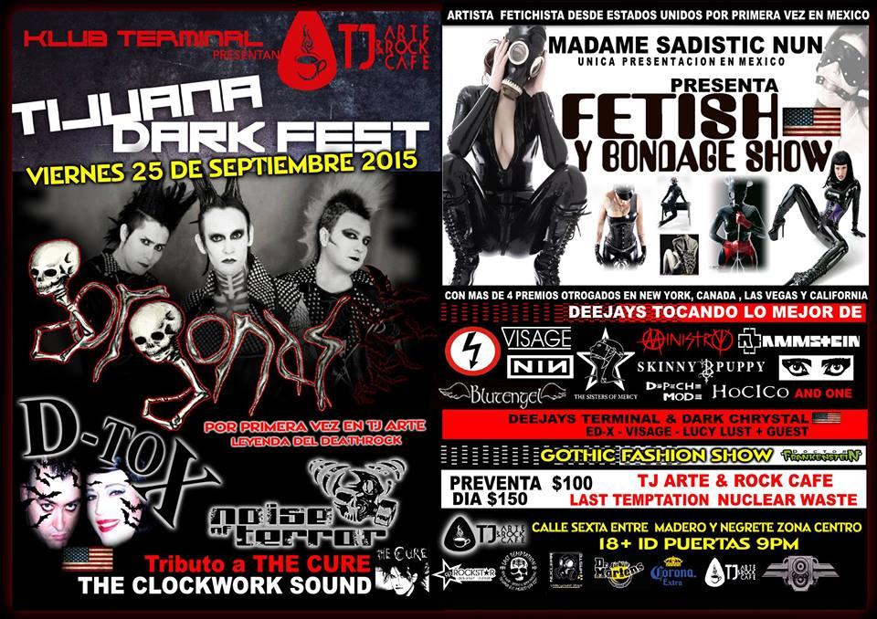 Tijuana Dark Fest 2015
