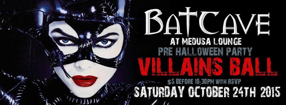 Batcave Villains Ball