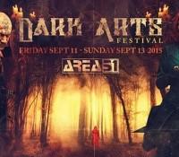 :Festival: Dark Arts Festival – September 11-13, 2015 @ Area 51, Salt Lake City, Utah
