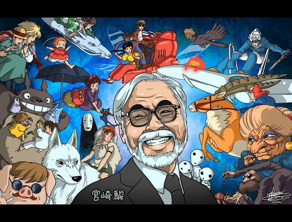 Ghibli Hayao Miyazaki Art Show