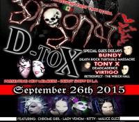 :Concert: Gorgonas and D-TOX – September 26, 2015 @The Epic Lounge, Downey, CA