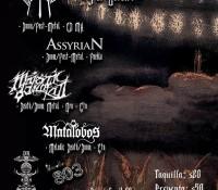 :Concert: Invocation Tour – Octubre 3, 2015 – Studio 803, Puebla, Mexico