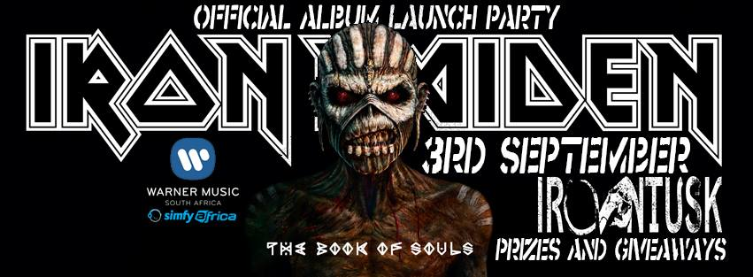 Iron Maiden Book of Souls Album Party SA