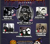 :Festival: Synthetik Halloween Festival Tijuana – October 30, 2015 @ La Pachanga Night Club, Tijuana, BC, MX