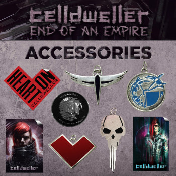 Celldweller End of an Empire Accessories