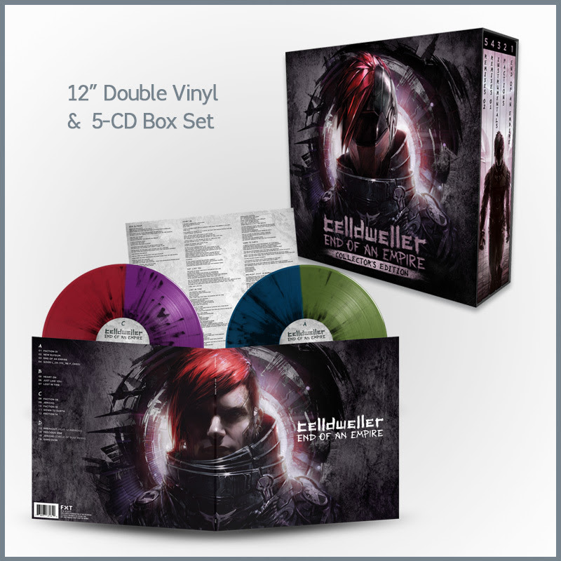 Celldweller End of an Empire Vinyl