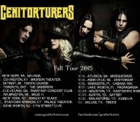 :Tour Information: Genitorturers on Tour Now!