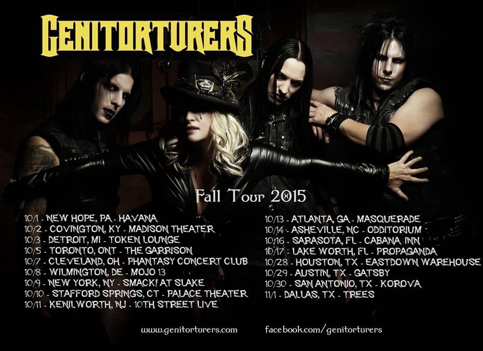 Genitorturers 2015 Tour