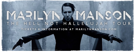 Marilyn Manson Hell Not Hallelujah Tour 2015 3