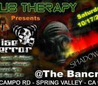 :Concert: Noise of Terror with Shadow Hill – October 17, 2015 @ The Bancroft Bar, Spring Valley, CA