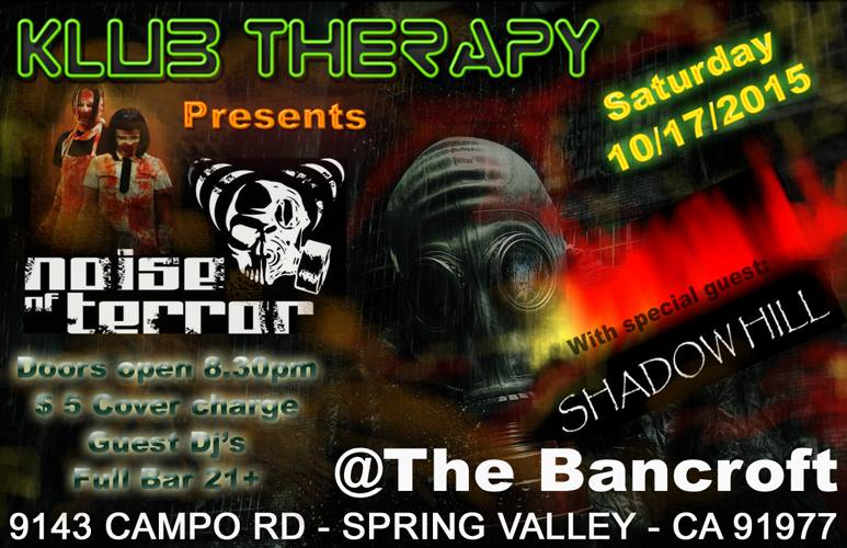 Noise of Terror Klub Therapy