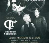 :Tour Information: Clan of Xymox to Tour South America in 2016 with Guests Decoded Feedback