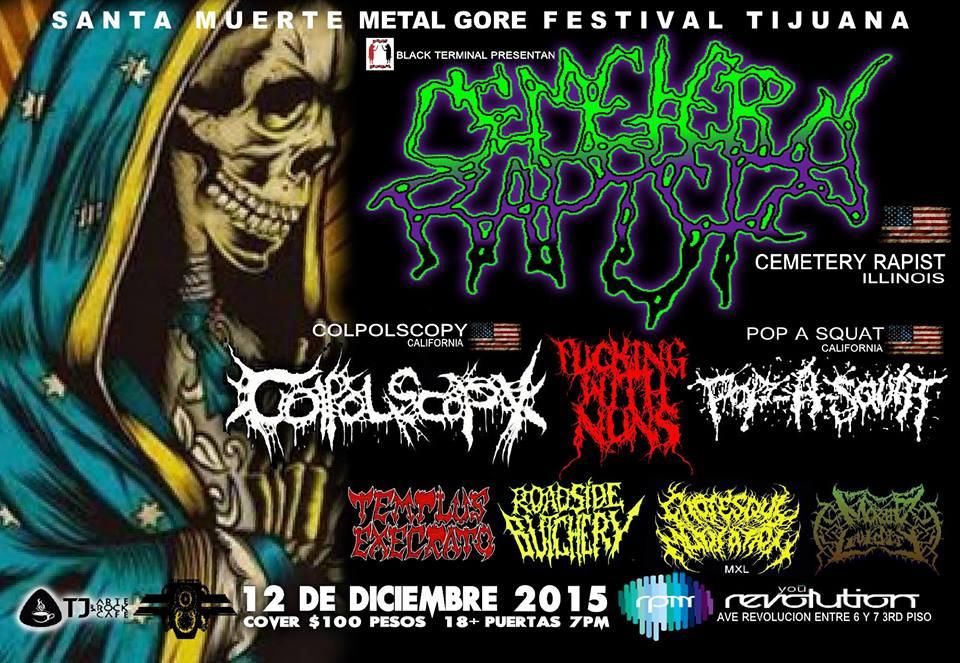 Santa Muerte Metal Fest 2015 TJ
