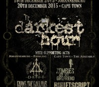 :Tour Information: Darkest Hour 20th Anniversary Tour – December 18 – 20 2015, South Africa