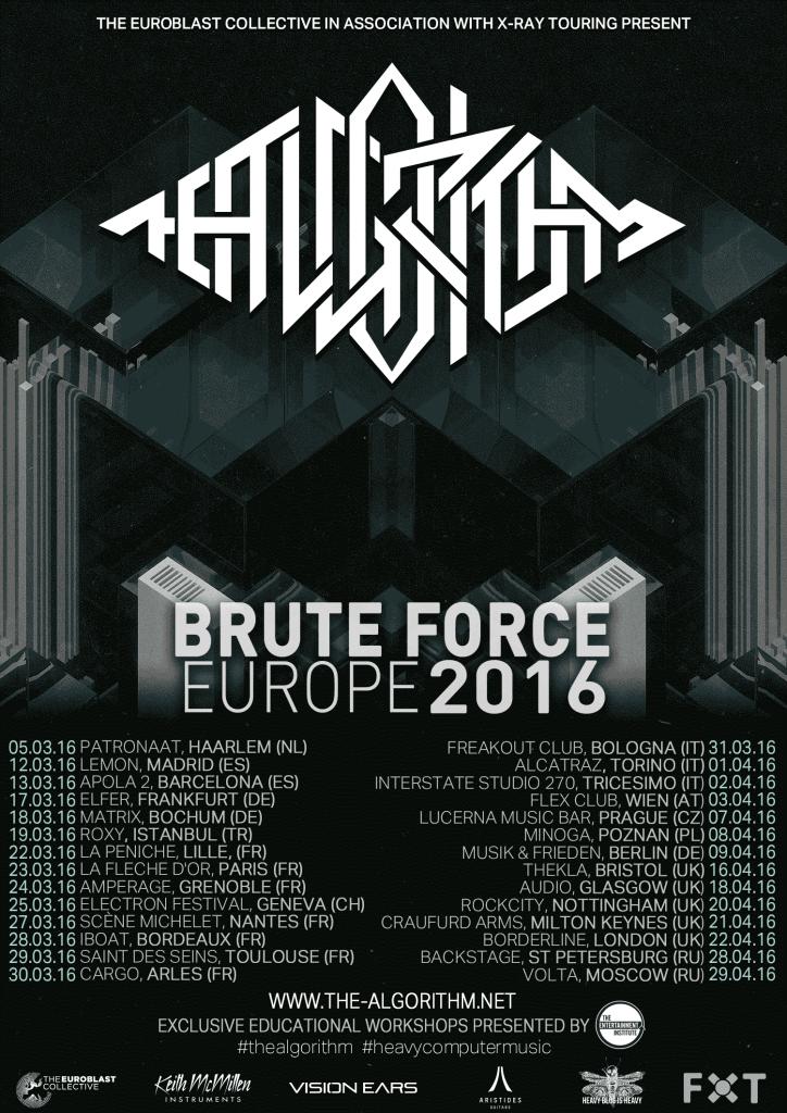 The Algorithm Tour Dates