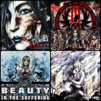 beauty in the suffering album covers