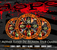 ":News: DOPE Launches Live Album Pre-Order & ""Die Mother Fucker Die"" Reunion Tour Campaign"