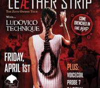 :Concert Review: Zoth Ommog Tour 2016 – Leæther Strip, Ludovico Technique, Voicecoil, Probe 7 – April 1, 2016 – Denver, CO