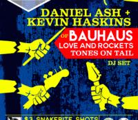 :Concert Review: Daniel Ash & Kevin Haskins DJ Set – March 25, 2016 – Denver, CO