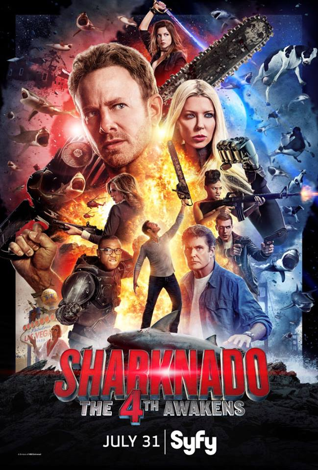 Anthony Sharknado poster
