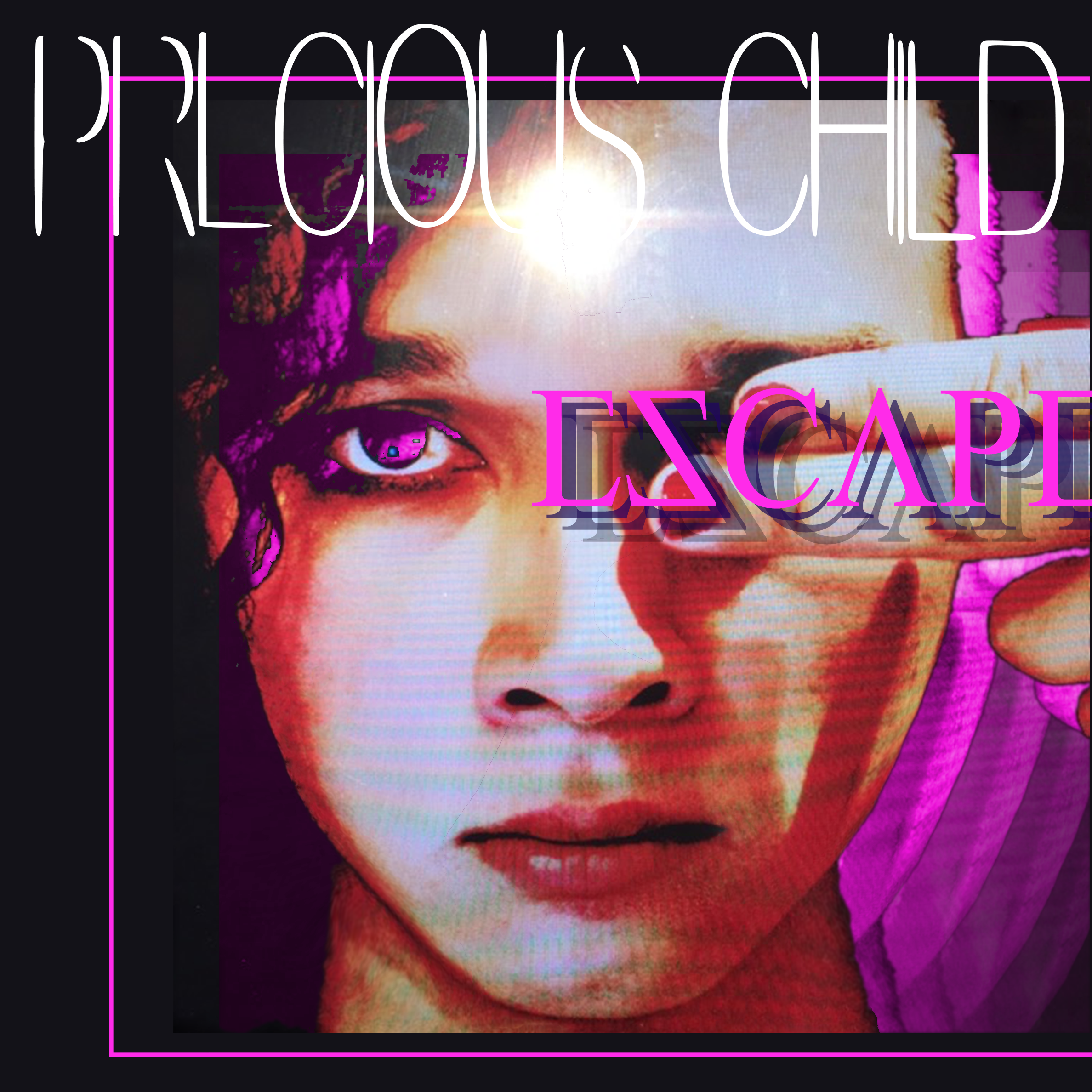 precious-child-escape-vinyl-cover