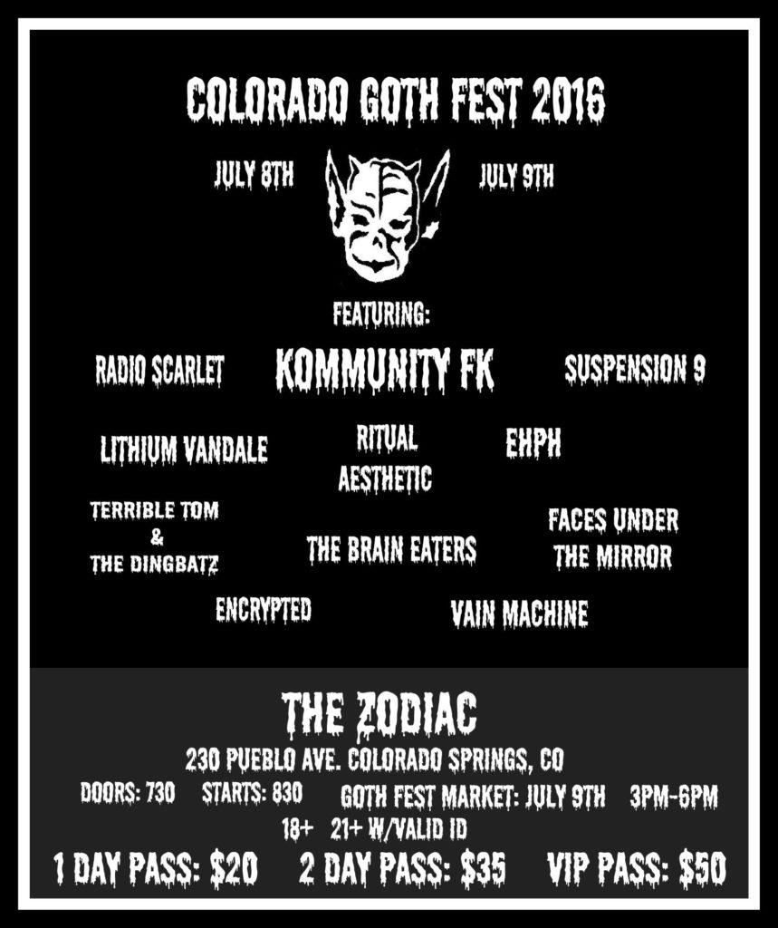 gothfest flyer