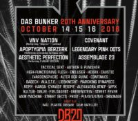 :Photo Gallery: Das Bunker 20th Anniversary – October 15-16, 2016 – Los Angeles, CA