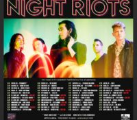 :CONCERT REVIEW:  NIGHT RIOTS – ZOMBIES IN AMERICA TOUR –  APRIL 21, 2017 – ORLANDO, FLORIDA